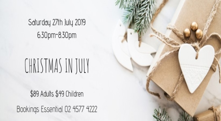 Christmas in July event image. Saturday 27th July, 2019