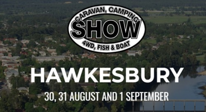 Caravan, Camping, 4WD, Fish and Boat Show. 30th August until 1st September 2019
