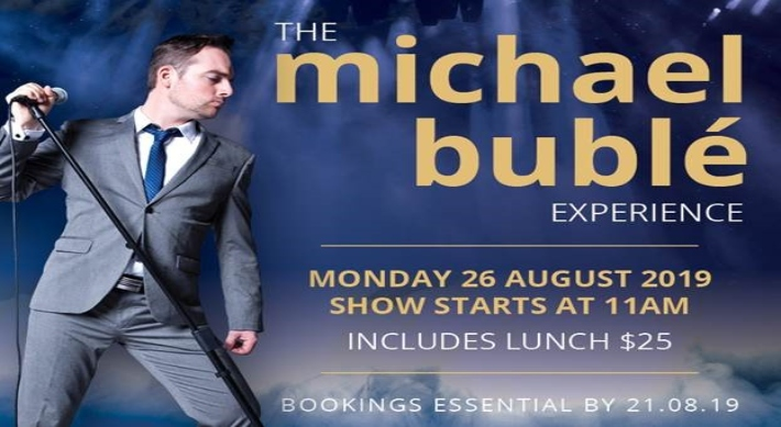 Image for Michael Buble event August 2019